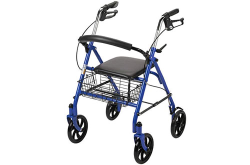 Drive Medical Four Wheel Walker Rollator
