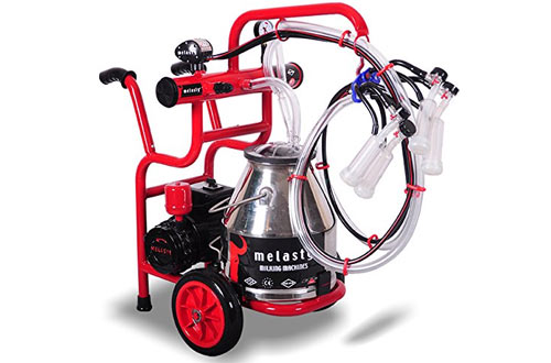 Melasty Portable Electric Milking Machine for Goats