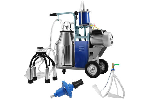 Electric Milking Machine for Goats & Cows