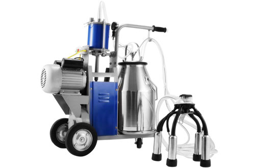Popsport 1440 RPM Portable Electric Milking Machine for Cows