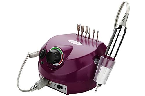 Belle Electric Nail Art Drill File Manicure Pedicure Machine Complete Professional Set