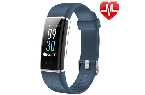 LETSCOM Fitness Tracker, Heart Rate Monitor Watch