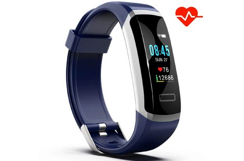 Akuti IPX7 Waterproof Smart Wristband Pedometer Watch