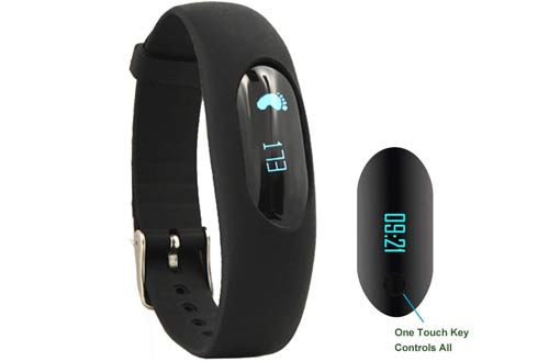 Willful Non-Bluetooth Pedometer Bracelet Fitness Tracker Watch with Step Calories Counter Sleep Monitor