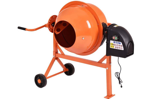 Electric Concrete Cement Mixer Barrow Machine for Mixing Mortar