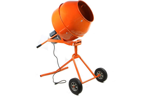NEW Portable 5 Ft Electric Concrete Cement Mixer Machine
