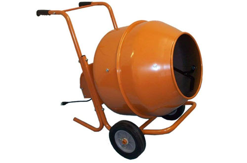 Wheel Barrow Portable Cement Concrete Mixer
