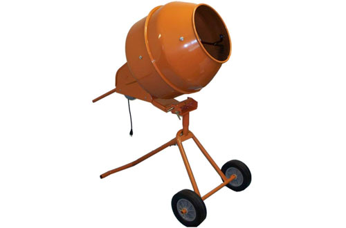 5 Cubic Feet Tall Portable Cement Concrete Mixer