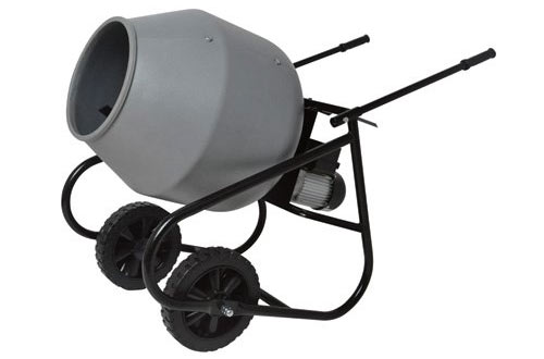 Klutch 2 Cubic Ft. Portable Cement Mixer