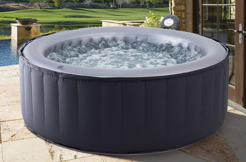 M-spa mspa Lite Silver Cloud Hot Tub Inflatable Spa