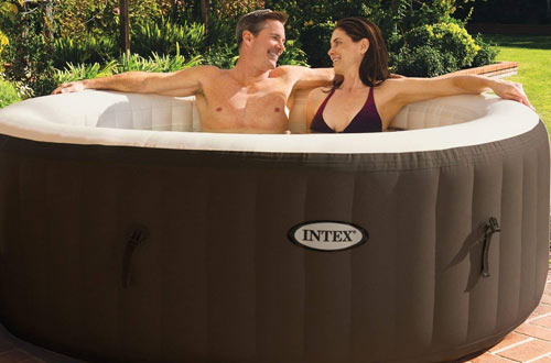 Inflatable Bubble Jet Spa Portable Heated Hot Tub
