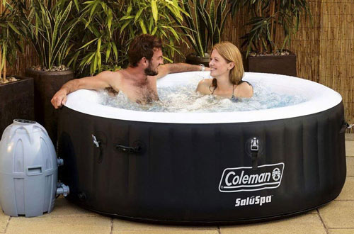 Portable Inflatable Spa 4-Person Hot Tub