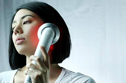 LED light therapy Facial Massager, Light Therapy Device for Acne, Vibration Skin Firming Care