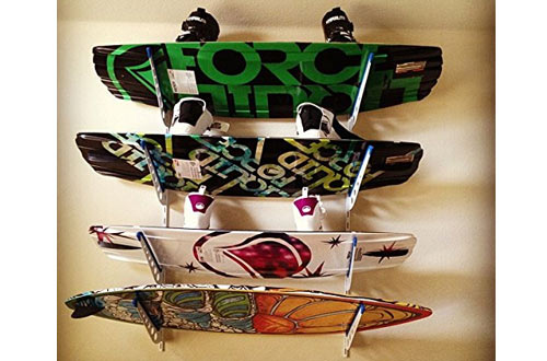 StoreYourBoard Wakeboard Wall Storage Rack