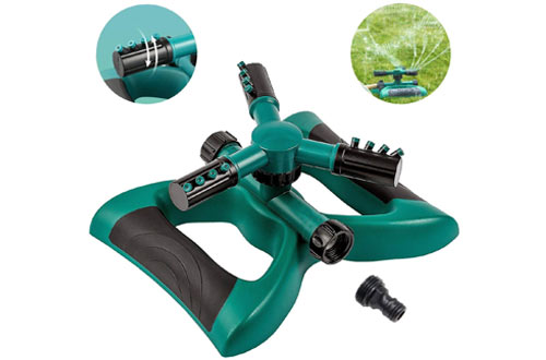 Lawn Sprinklers Garden Oscillating Water Irrigation Sprayer