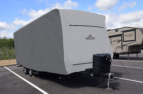 Covercraft Wolf by CY31043 Travel Trailer RV Cover
