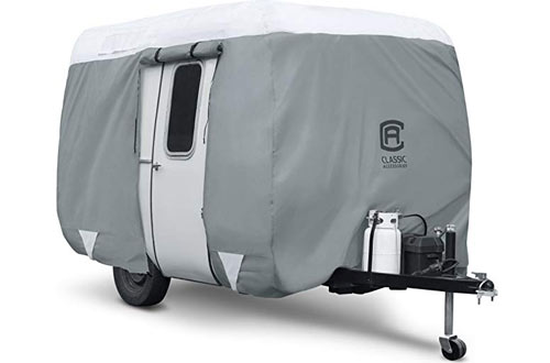 Molded Fiberglass Camping Trailer Cover