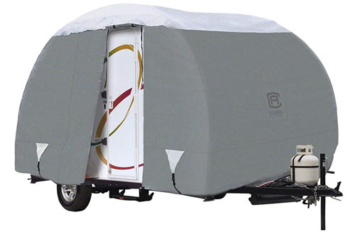 Classic Accessories OverDrive PolyPRO 3 Deluxe R-Pod ONLY Travel Trailer Cover