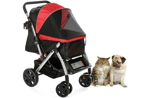 HPZ Pet Rover Premium Heavy Duty Small/Large Pet Stroller