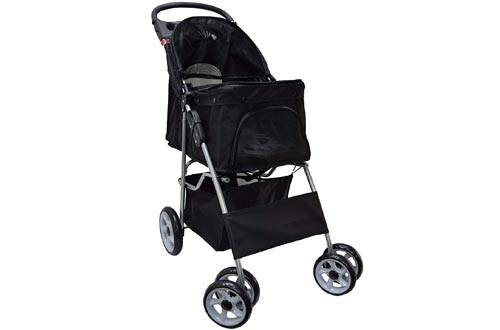 VIVO Wheel Pet Stroller for Cat and Dog and More