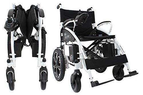 Electric Wheelchair Folding Lightweight Heavy Duty Electric Power Motorized Wheelchair