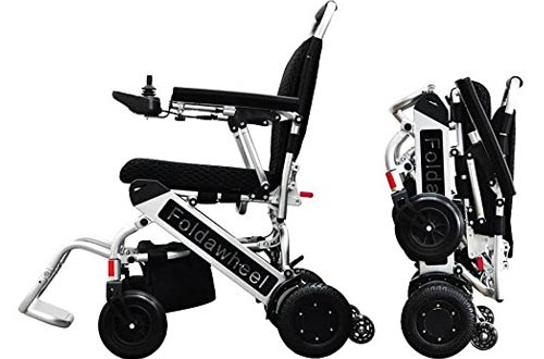 Foldawheel PW-999UL lightest & Most Compact Power Wheelchair