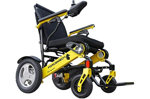 Forcemech Power Wheelchair - Electric Folding Mobility Aid