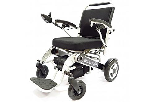 Foldawheel PW-1000XL Longest Driving Range Power Wheelchair