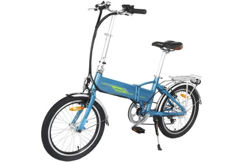ONWAY 20 Inch 6 Speed Folding Electric Bicycle
