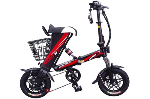 MEIYATU E-Bike - Folding Electric Bicycle