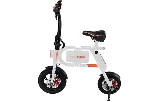 SWAGTRON SwagCycle E-Bike – Folding Electric Bicycle