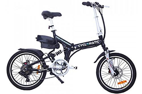 Cyclamatic CX4 Pro Dual Suspension Foldaway E-Bike