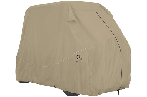 Fairway Quick Fit Cover for Golf Carts with Rear Facing Back Seats
