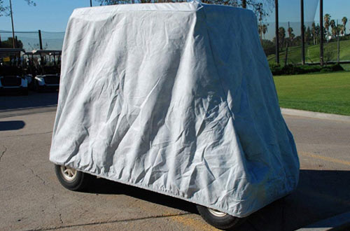 CarsCover HD Waterproof Golf Cart Cover 4 Passenger
