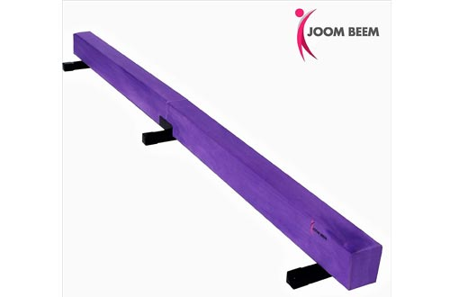 Joom Beem Purple 8FT SUEDE BALANCE BEAM LOW PROFILE
