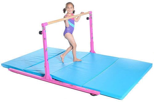 Homemade Gymnastics Bars for Kids