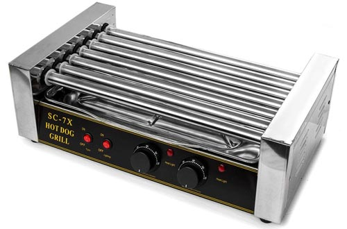 Hot Dog Grill Roller Commercial 18 Hotdog Maker
