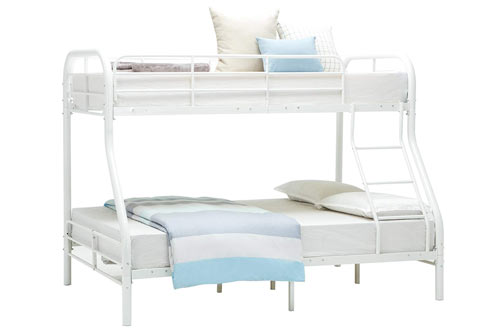 Mecor Twin Over Full Metal Bunk Beds Frame