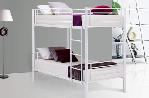 Mecor Twin Metal Bunk Beds-Twin Over Twin Bunk Bed Frame-for Kids