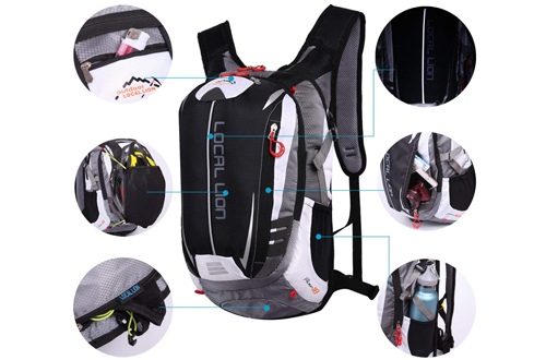 LOCALLION Cycling Backpack Riding Backpack Bike Rucksack Outdoor Sports