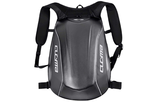 Motorcycle Backpack Motorsports Track Riding Back Pack Stealth No Drag Molded