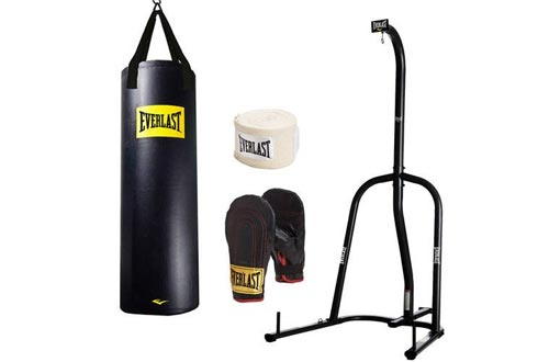 Everlast Single-Station Heavy Bag Stand and Bag