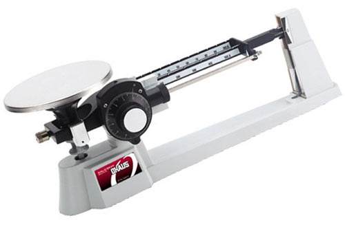 Ohaus 1610-00 Dial-O-Gram Triple Beam Balance with Tare and SS Pan