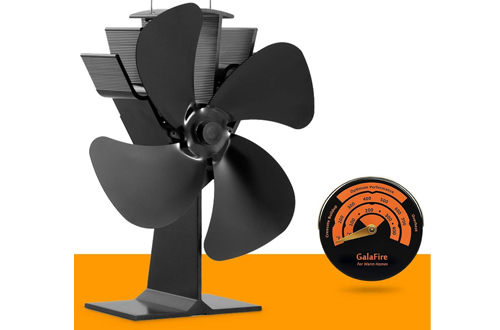 No Electricity Required Heat Powered Stove Fan