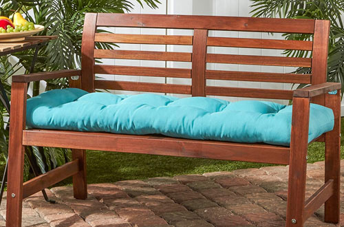 Greendale Home Fashions Outdoor 51-inch Bench Cushion