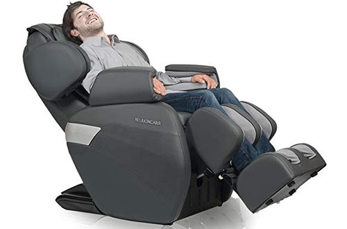 Full Body Zero Gravity Shiatsu Massage Chair with Built-In Heat and Air Massage System