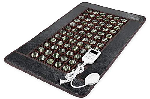 OVIDA far Infrared Heating pad for Back Neck Pain Relief Jade mat