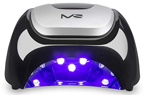 MelodySusie 48W LED Nail Lamp - Smart Gel Nail Dryer