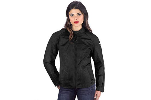 Viking Cycle Warlock Women's Mesh Motorcycle Jacket