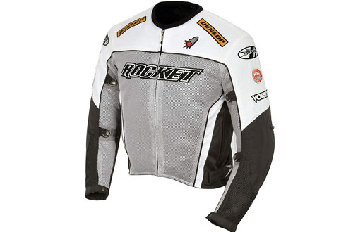 Joe Rocket Men's UFO 2.0 Mesh Motorcycle Jacket